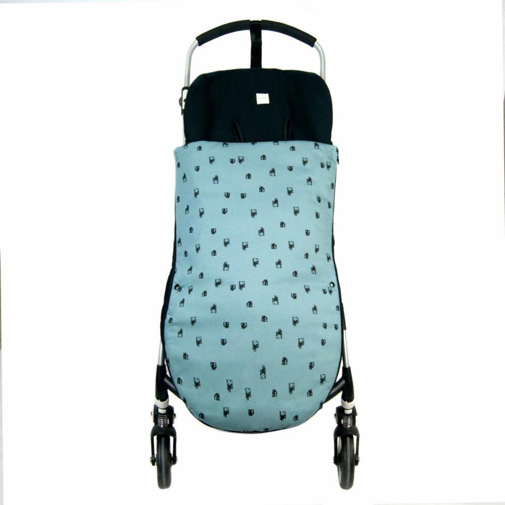 Saco silla paseo universal polar verde aikobeb for Saco para silla maclaren