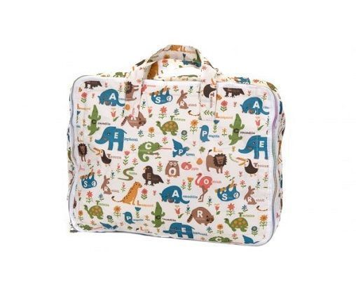 Maleta de Viaje My Bags Animales Crema