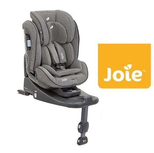 Silla de Auto Joie Stages Isofix Fugal Grey