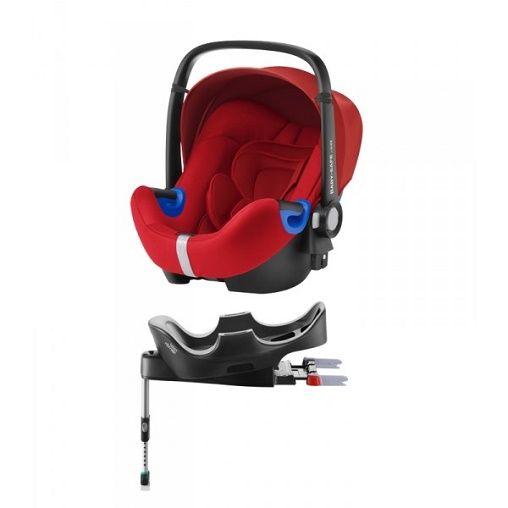Silla Auto G0 Romer BABY SAFE i-SIze con Base Rojo