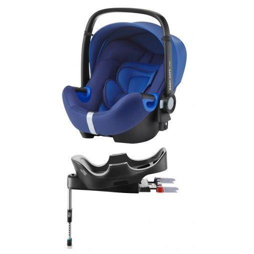 Silla Auto G0 Romer BABY SAFE i-SIze con Base Azul
