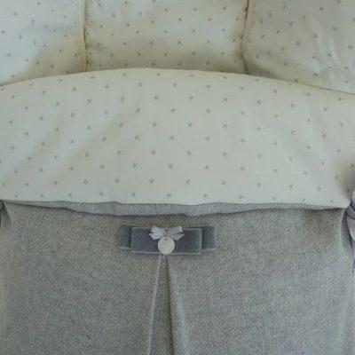 Saco de Silla Coordinado Ab Wool Gris