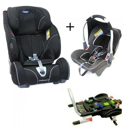silla de coche klippan triofix comfort dinofix grupo 0 1 2