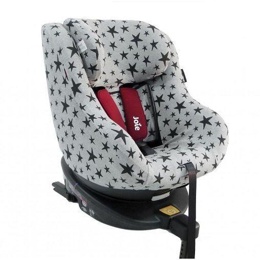 Funda para silla de coche Joie Spin 360 Black Stars