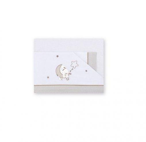 Sábanas Pirulos diseño Luna star Minicuna 50-80 cm