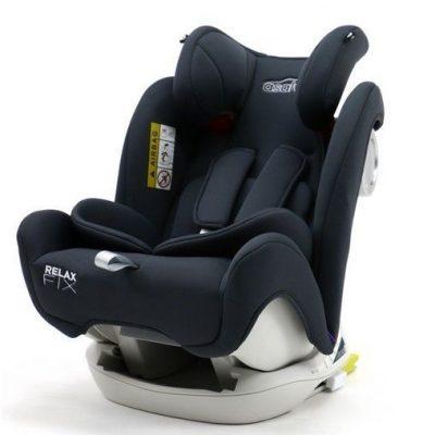 Silla de Auto Relax Fix Asalvo Grupo 0-I-II-III Gris