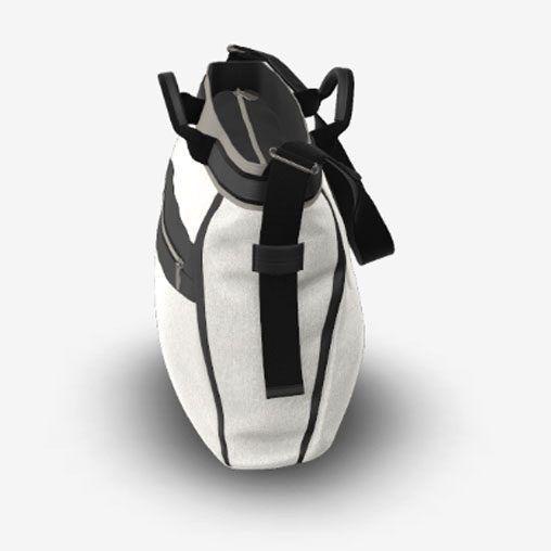 Bolso Bugaboo con cambiador gris