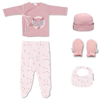 Set 5 piezas Fox Casual Bimbidreams color rosa