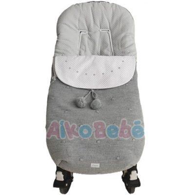 Saco Silla Universal Uzturre Bebe Gris
