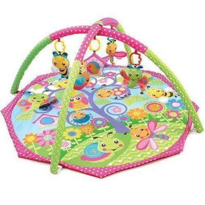 Alfombra de juego y gimnasio Playgro diseño Bugs'n Bloom
