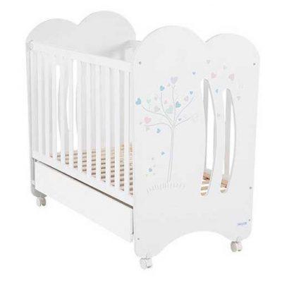 Cuna Aura Micuna color blanco para bebes 0m+