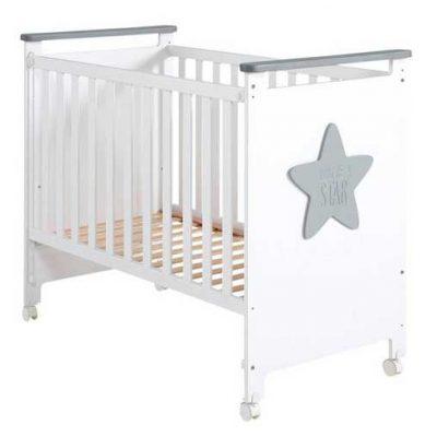 Cuna Baby Star Gris Micuna para bebes