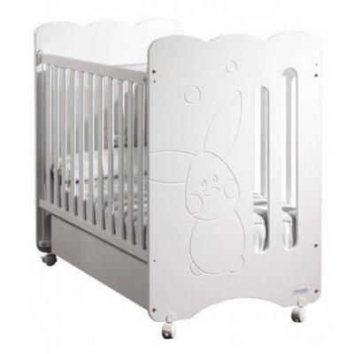 Cuna Copito Micuna color blanco para bebes