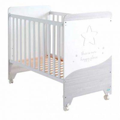 Cuna Cosmic Micuna Nordic para bebes Blanco 0m+