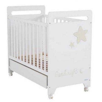 Cuna Istar Micuna blanco arena para bebes