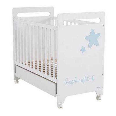 Cuna Istar Micuna blanco cielo para bebes