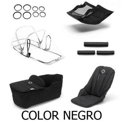 Pack de Estilo Bugaboo Fox color negro