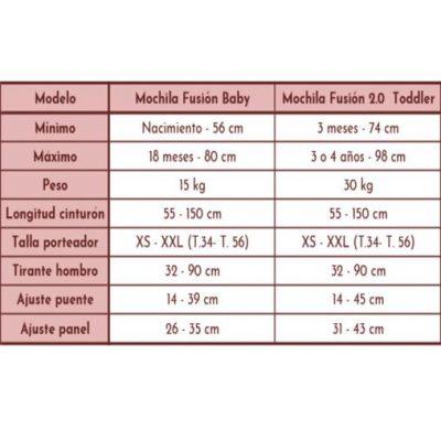 Mochila Fidella Fusion Chevron Ligth Gray - Bebé