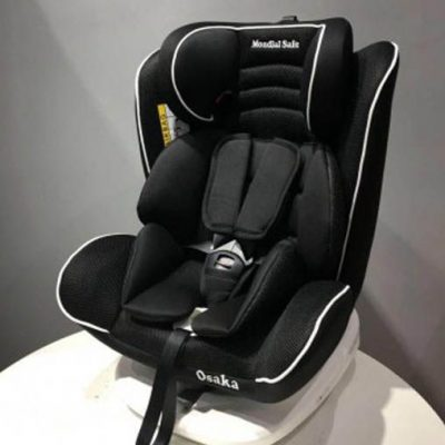 Silla Auto Osaka Mondial Safe Isofix Giro 360 Multi 1-4 Blanco