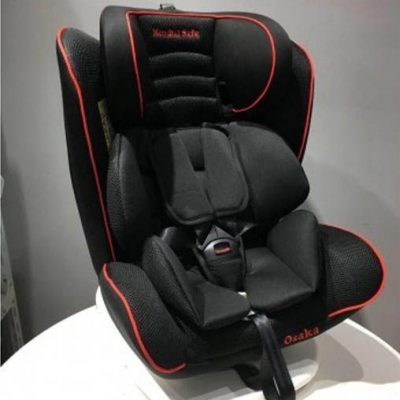Silla Auto Osaka Mondial Safe Isofix Giro 360 Multi 0-3 Rojo