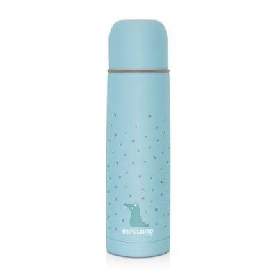 Termo para Líquidos Miniland Azul Baby Silky Thermos 500 ml