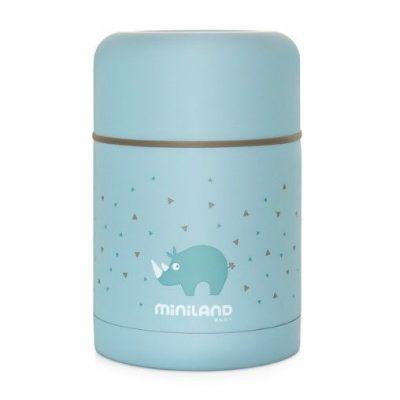 Termo para Sólidos Miniland Azul Baby Silky Food 600 ml