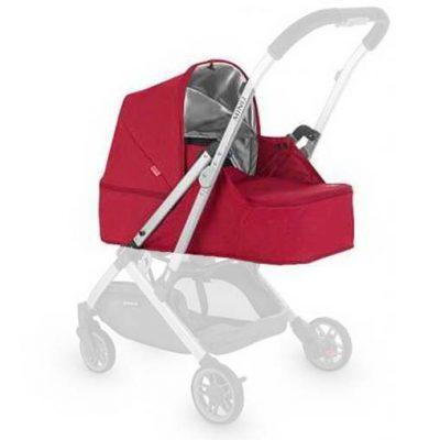 Capazo Uppababy Mini Rojo - Kit Recien Nacido
