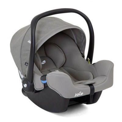 Silla Auto I-Snug Joie Grey Flannel Grupo Cero