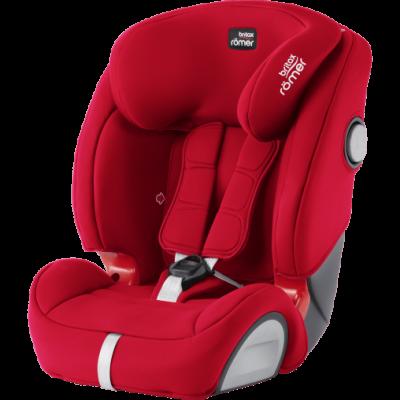 Evolva 1-2-3 SL SICT Rojo Fire Red Silla Coche de Romer