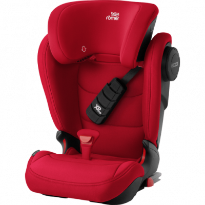 Silla Auto Kidfix III-S Rojo Fire Red de Rommer