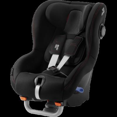 Silla Max-Way Plus Black Cool Flow para auto de Romer