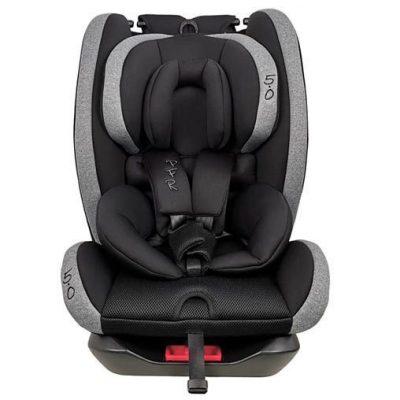 Silla Auto Rescate Infantil Negro PFR 5.0 Grupo 0-1-2-3 (0-36kg)