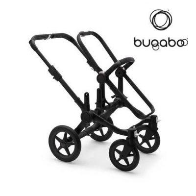 Base Bugaboo Donkey 3 - Chasis Negro / Aluminio