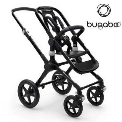 Base Bugaboo Fox 2 - Chasis color Negro / Aluminio
