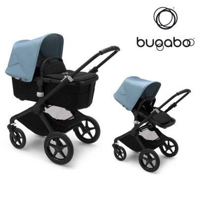 Cochecito Bugaboo Fox 2 Negro Azul