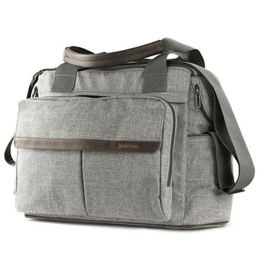 Bolso Inglesina Aptica Dual Bag Gris Mineral Grey