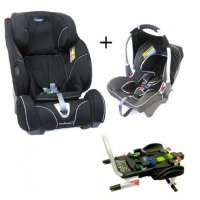 Silla Auto PACK Klippan Dinofix y Triofix Comfort