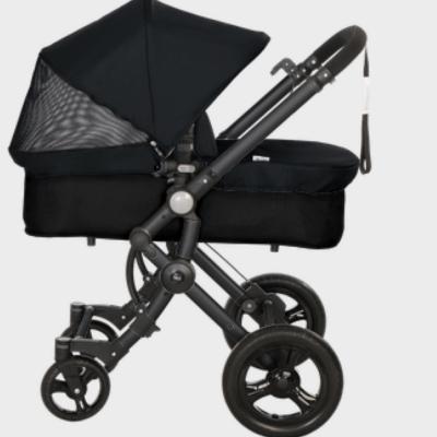 Baby ace 042 duo black + base black + vestimenta y capota fresh